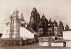 Mahadeo temples at Khujraho